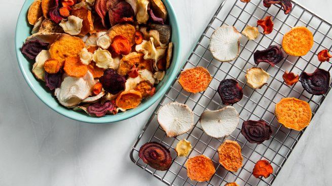 Chips De Verduras La Mejor Alternativa A Las Patatas Fritas