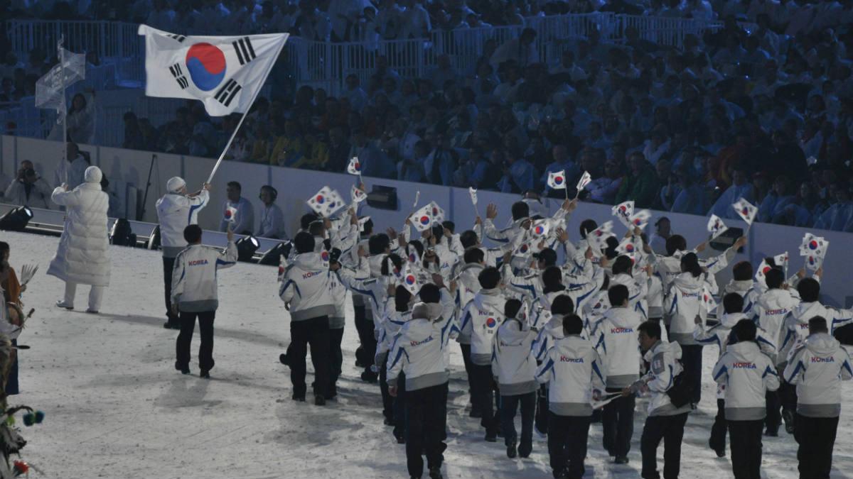 Corea del Sur y Corea del Norte marcharán juntas en los Juegos Olímpicos de 2018.