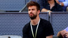 Gerard Piqué, en el Mutua Madrid Open. (Getty)