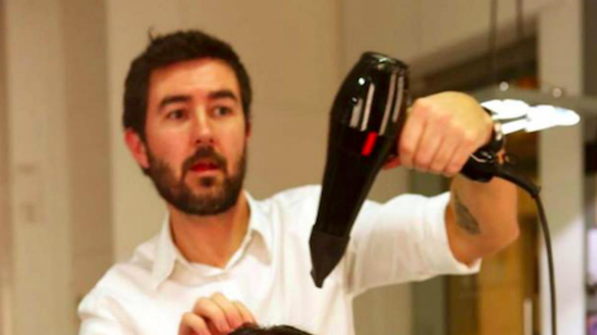 Jordi Pelfort, el peluquero de Igualada detenido por amenazas de muerte a Albert Rivera (Foto:Facebook)