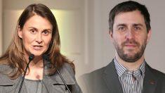 La ex consellera de Agricultura, Meritxell Serret, y el ex conseller de Salud, Toni Comín, ambos de ERC.