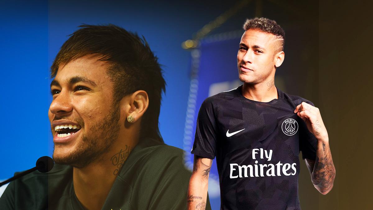 Neymar tiene muchas ganas de salir del Paris Saint Germain para volver a España.