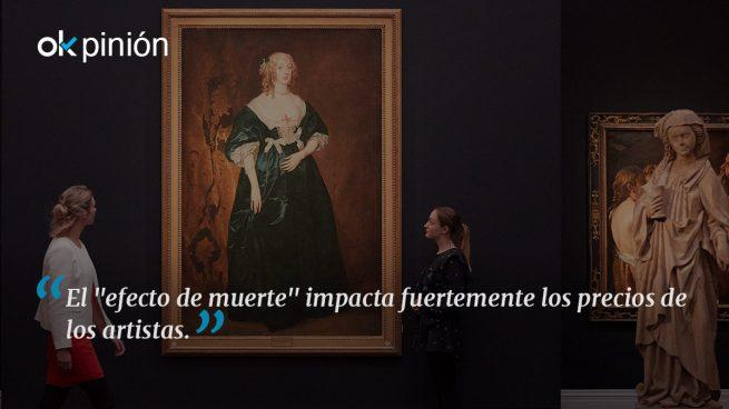 El efecto de funeral o muerte en el mercado del arte