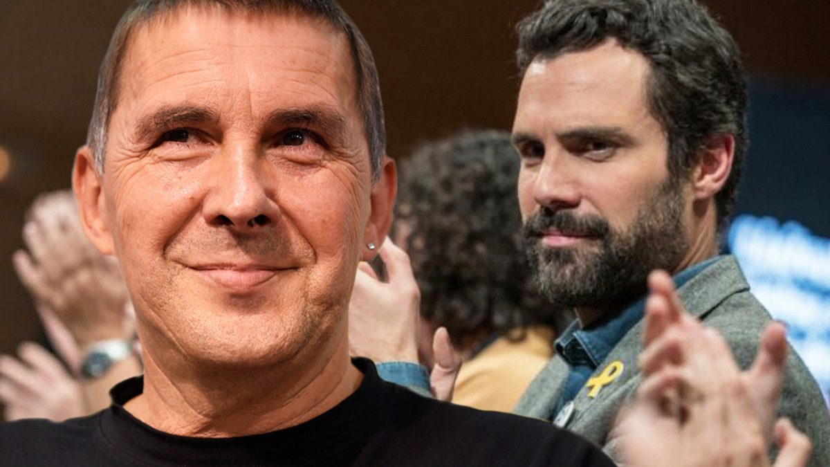 Arnaldo Otegi y Roger Torrent