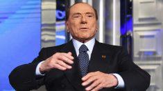Silvio Berlusconi, ex primer ministro de Italia. (Foto: AFP)