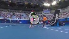Rafa Nadal, en el Open de Australia.