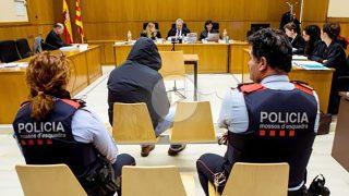 Francisco Javier Corbacho, violador de Eixample, en el banquillo. (Foto: EFE)