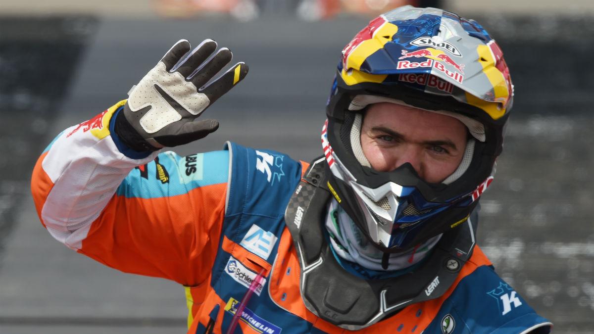 Walkner durante el Dakar 2018. (AFP)