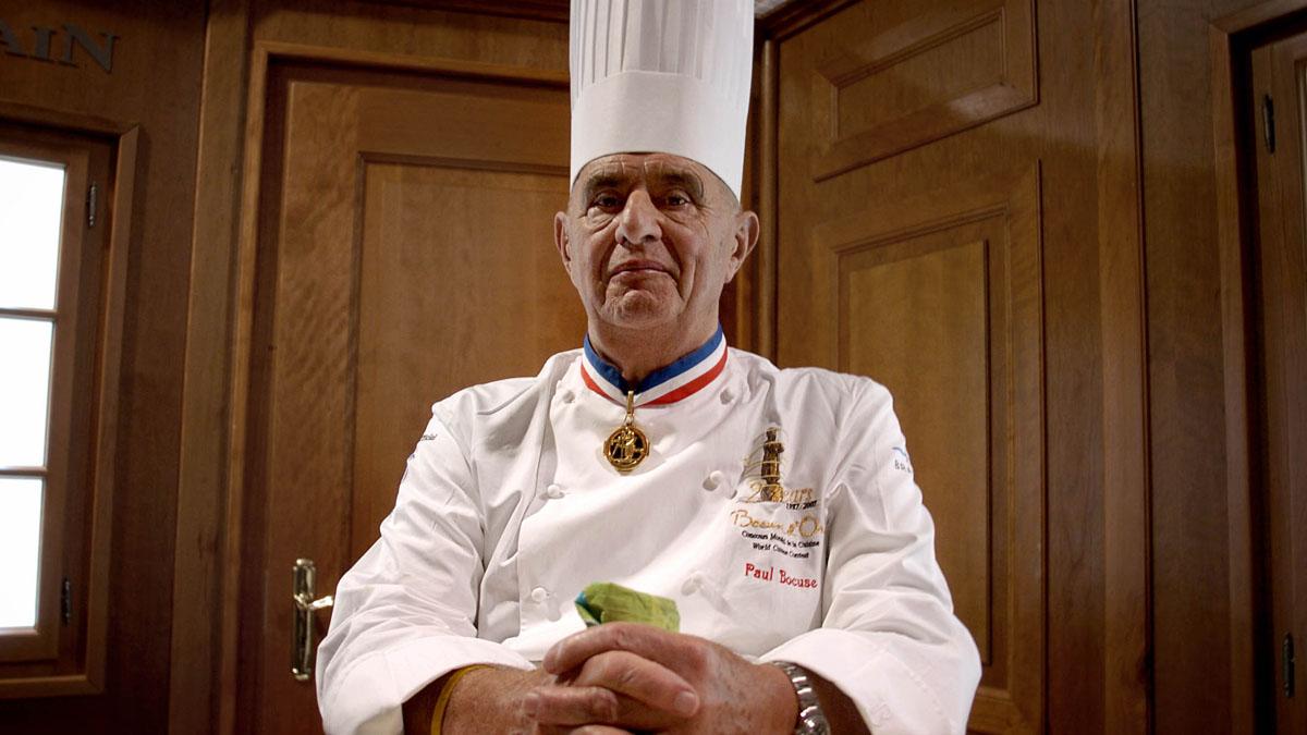 El chef Paul Bocuse (Foto: AFP)