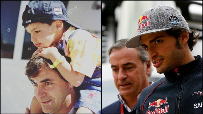 Resultado de imagen de Carlos Sainz padre e hijo