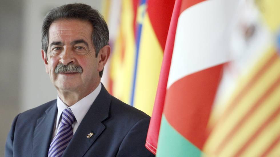 El presidente de Cantabria, Miguel Angel Revilla.