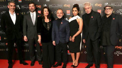 El equipo de 'El Autor' en una reciente imagen (Foto: Efe).