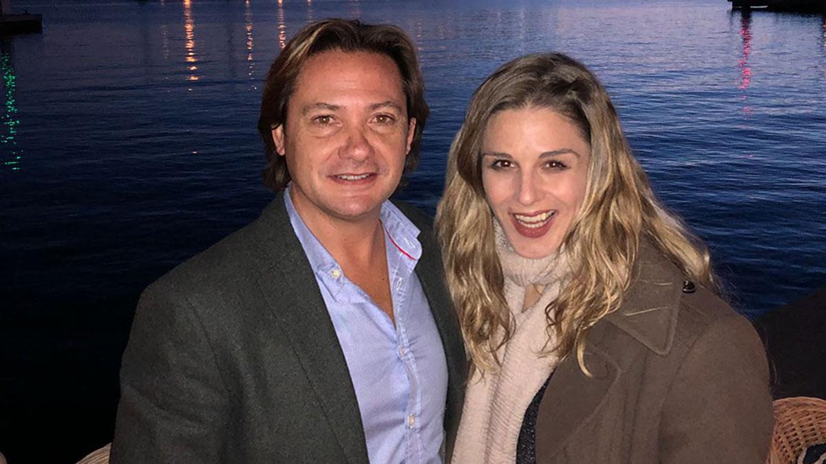 Jorge Campos y Malena Contestí, presidente y vicepresidenta del Círculo Balear.