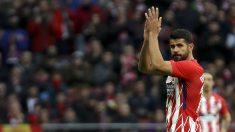 Diego Costa volvió a vestir la camiseta del Atlético este mes de enero después de cerrar su fichaje en verano por 66 millones de euros. (EFE)