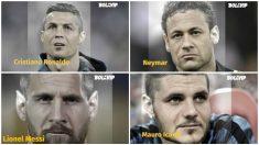 Las grandes estrellas del fútbol dentro de un tiempo. (Fotos: Bolavip)