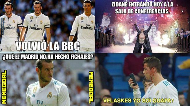 Cristiano y su 'espejito' protagonizan los mejores memes del partido del Real Madrid