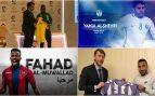Siete equipos españoles anuncian a la vez el fichaje de jugadores ¡saudíes!