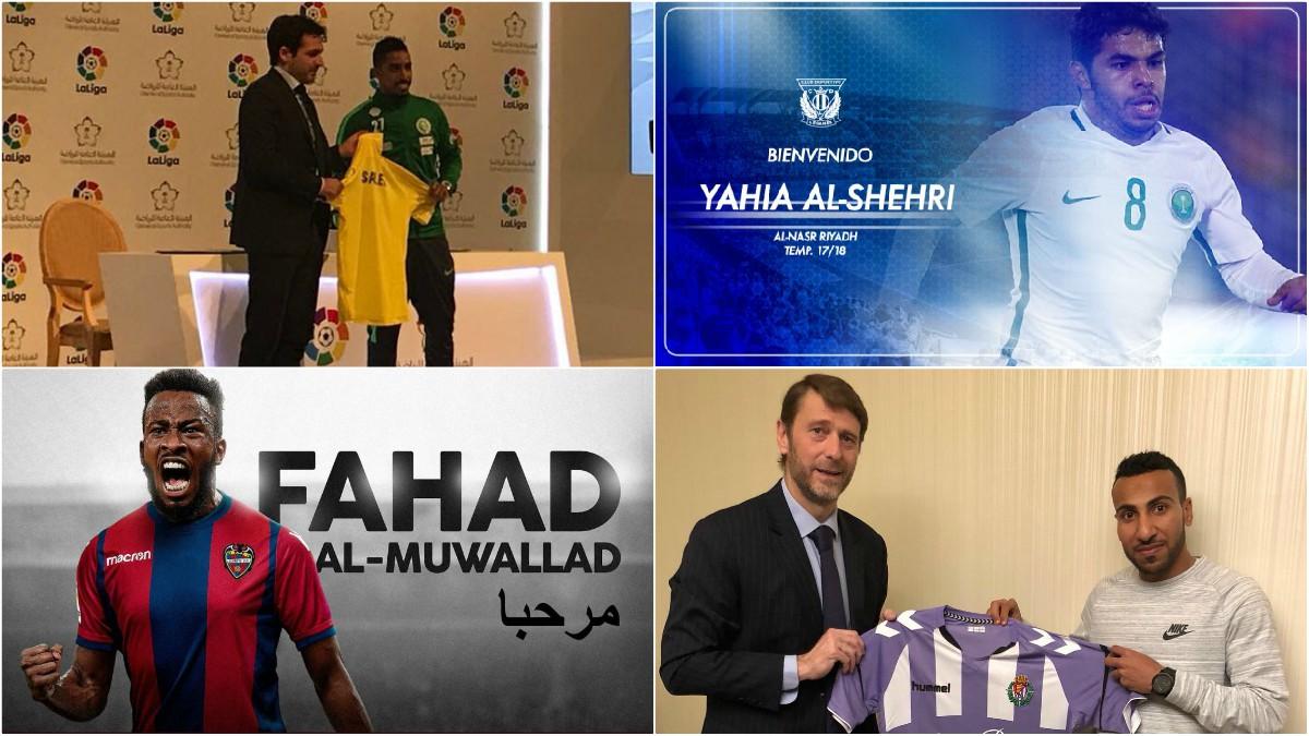 Los futbolistas saudíes que han llegado a LaLiga.