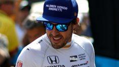 Fernando Alonso disputará el próximo fin de semana las 24 horas de Daytona, una carrera cuya retransmisión dará comienzo el sábado a las 20:40, hora española. (Getty)
