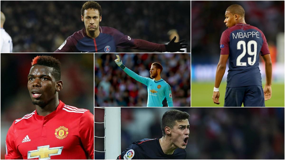 El Real Madrid siempre ha acechado a los mejores jugadores del mundo con mayor y menor éxito.