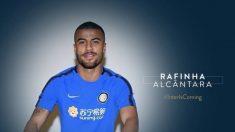 Rafinha, nuevo jugador del Inter.