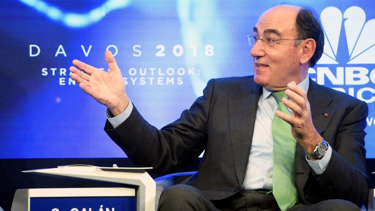 Ignacio Sánchez Galán, presidente de Iberdrola en Davos. (Foto. Iberdrola)
