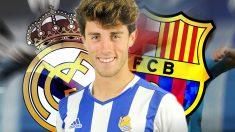 Odriozola es uno de los jugadores con mayor proyección del fútbol español.