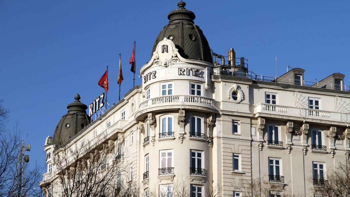 Hotel Ritz de Madrid (Foto. Ritz)