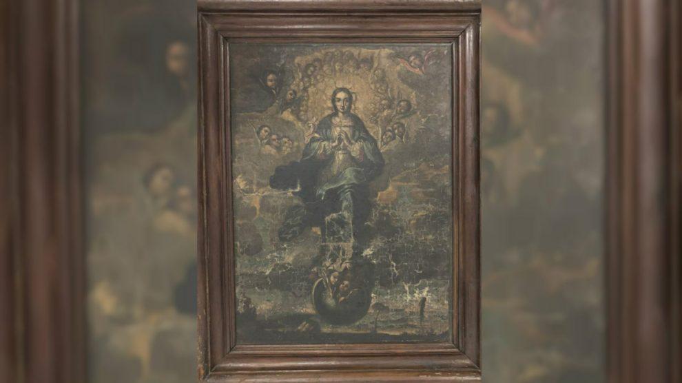 La Inmaculada, último de los bienes de Sijena que faltaba por entregar.