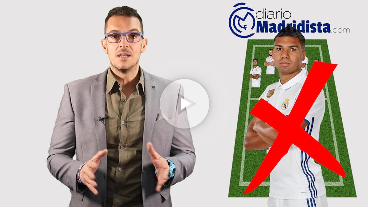 El Real Madrid jugará ante el Leganés con el plan B.