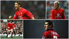 El 7 es el número más legendario del Manchester United.