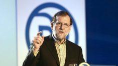 Mariano Rajoy, presidente del PP y del Gobierno. (Foto: EFE)