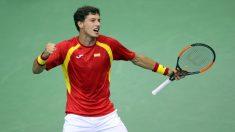 Pablo Carreño, será el número uno de España para medirse a Francia en la Copa Davis. (Getty)