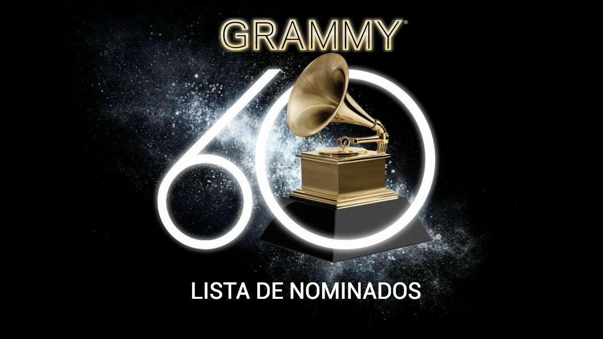 Consulta aquí la lista de nominados a los Grammy 2018.