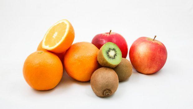 Batido cremoso de frutas
