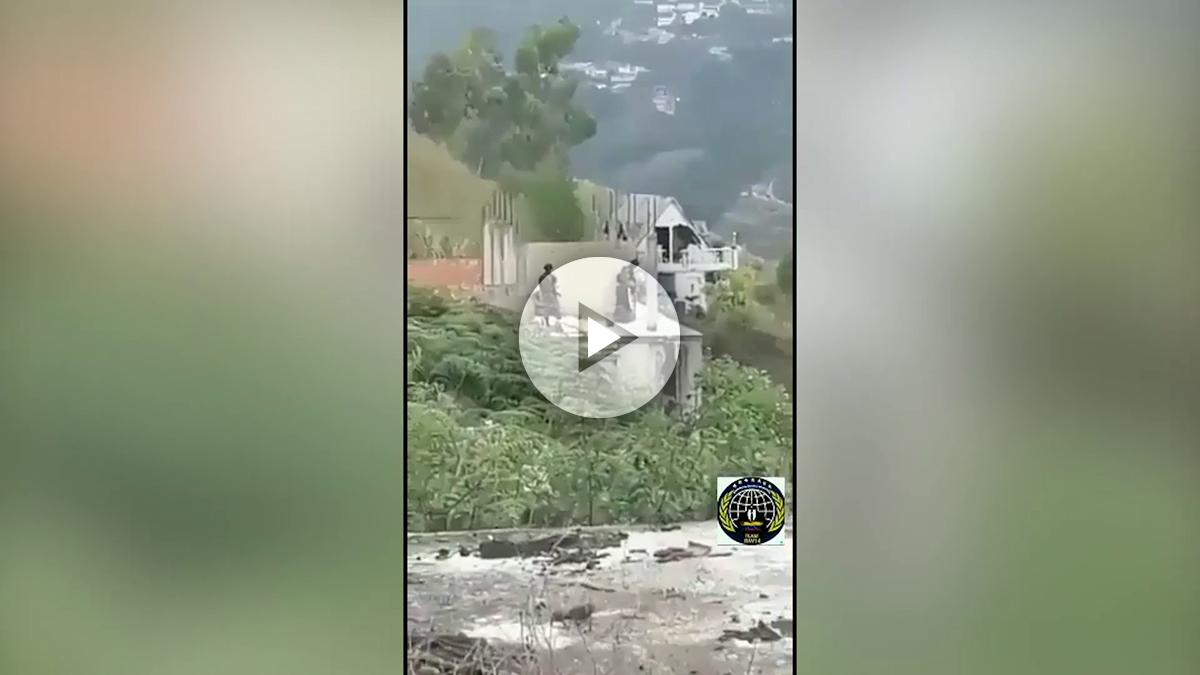 Vídeo completo de la operación contra Óscar Pérez en las afueras de Caracas.