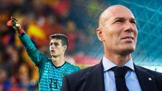 El cisma entre el club y Zidane empezó en enero con el caso Kepa.
