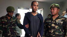 El español Abdelhakim Labidi Adi, detenido en Filipinas. (Foto: @Undercover_Camo)