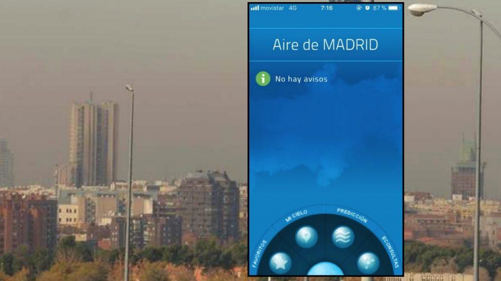 Captura de la app móvil.