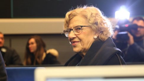 La alcaldesa Manuela Carmena. (Foto: Madrid)