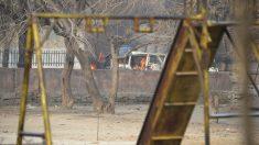 Atentado contra la sede de Save the Children en Jalalabad, Afganistán. (Foto: AFP)