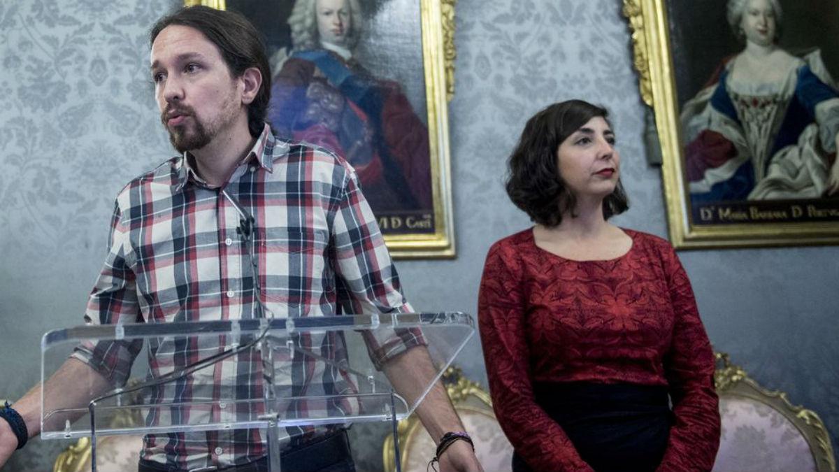La ex secretraia general de Podemos Navarra y diputada, Laura Pérez  purgada por Pablo Iglesias