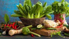 Son muchas las verduras asiáticas que forman parte de la ecococina.