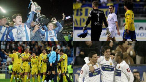 Los fracasos del Real Madrid en la Copa del Rey.