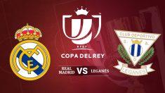 Consulta aquí cómo ver el Real Madrid vs Leganés.