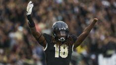 Shaquem Griffin, jugador de la Universidad Central de Florida. (Getty)