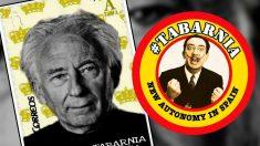 Retratos de Albert Boadella y de Salvador Dalí en los primeros sellos propuestos para Tabarnia