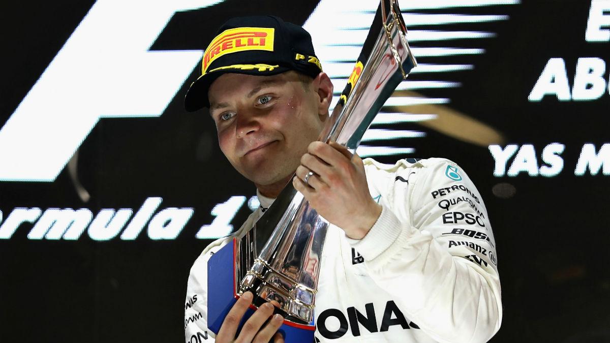Valtteri Bottas ha querido frenar el optimismo que rodea a Mercedes recordando que cada temporada es un mundo, y que a estas alturas no saben el rendimiento que podrá ofrecer el nuevo W09. (Getty)