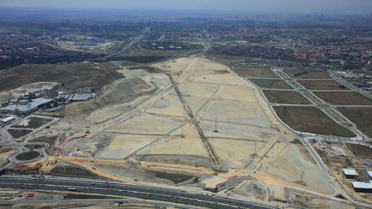 Panorámica de la zona a edificar. (Foto: Facebook)