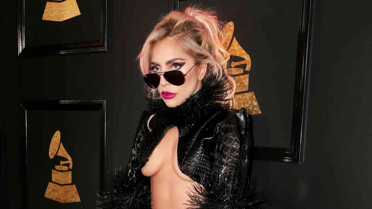 Lady Gaga en la Gala de los Premios Grammy 2017.